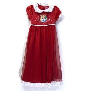 Disney Princess Christmas Costume Nightgown